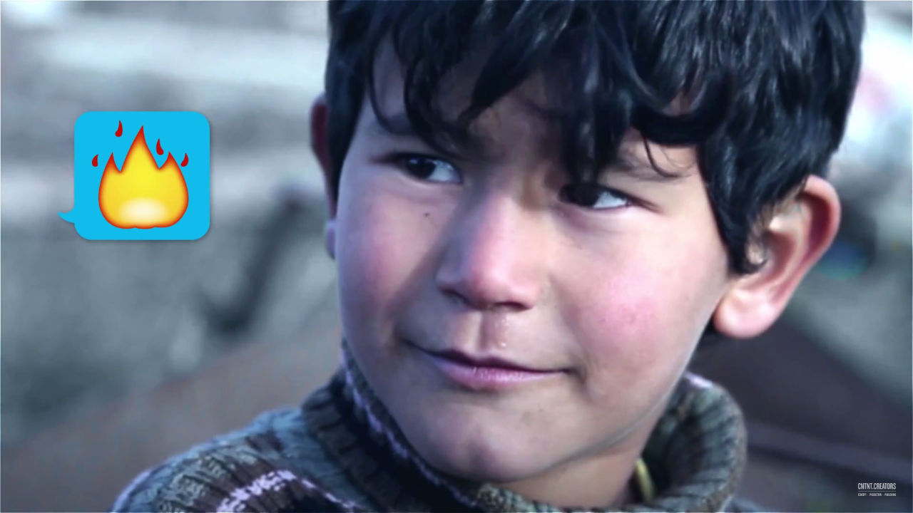 UNICEF CAMPAGNE 2015 – TVC VUUR